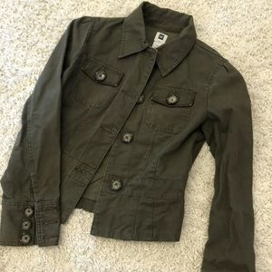 Gap Military Style Womens Button Coat XS